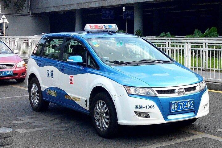 تاکسی خودران چینی 5