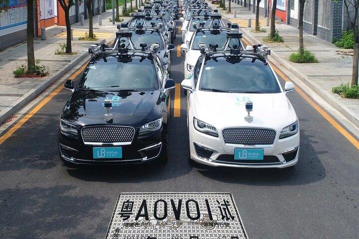 تاکسی خودران چینی 6