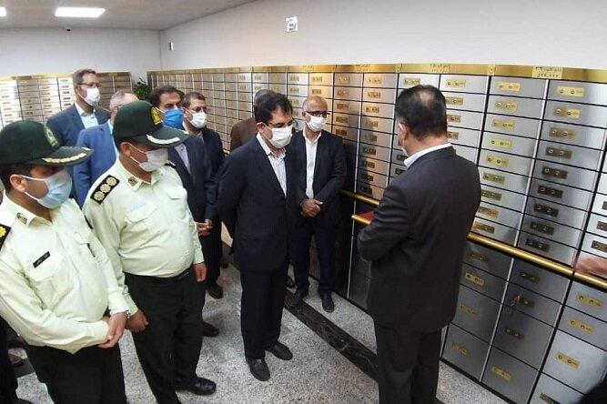 صندوق امانات بانک ملی بوشهر افتتاح شد