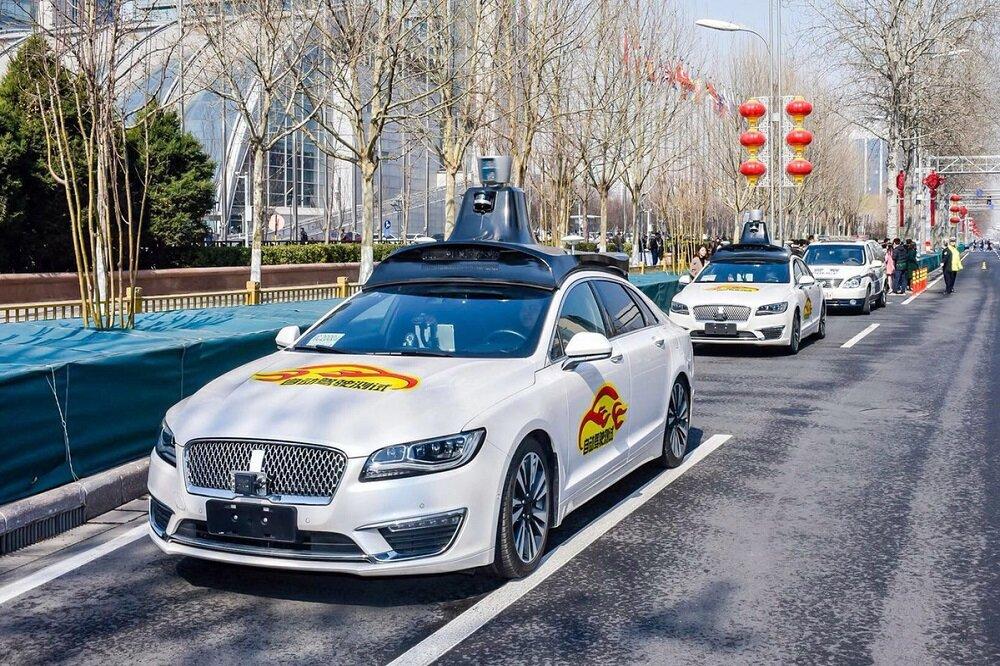 تاکسی روباتیک چینی