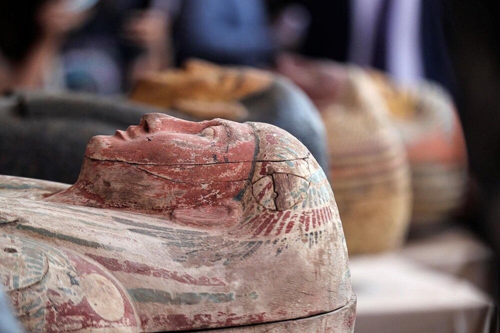 رونمایی از ۵۹ تابوت باستانی در کشف بزرگ باستان شناسی