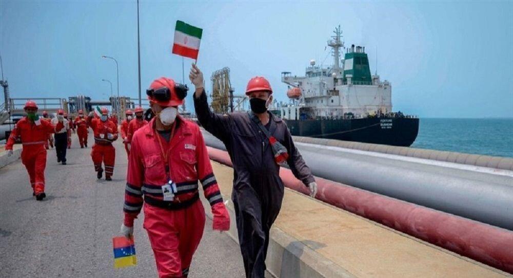 سومین و آخرین نفتکش ایرانی وارد آبهای ونزوئلا شد