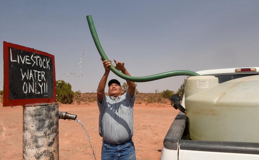 خشکسالی شدید در آریزونا