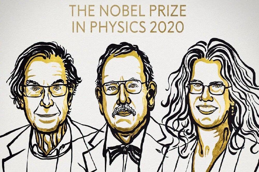 جایزه ی نوبل فیزیک و سیاه چالههای برنده