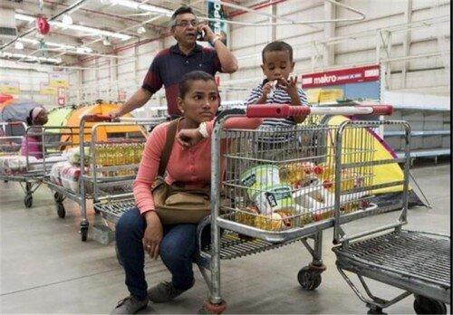 نرخ تورم ۸۴۴ درصدی در ونزوئلا