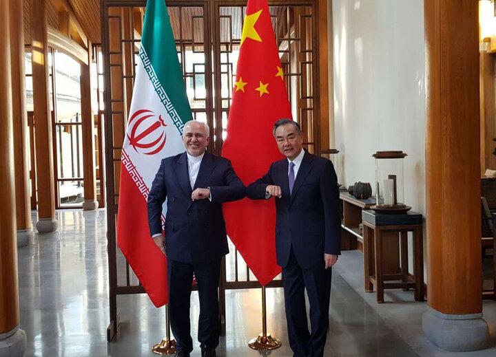 وزرای خارجه چین و ایران با یکدیگر دیدار کردند/ دو کشور به جنگ یکجانبه گرایی میروند