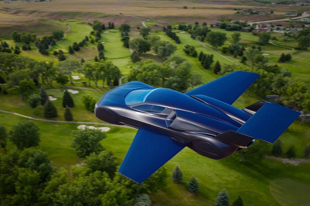 وعده سرعت دیوانهوار در خیابان و آسمان با ابر خودروی پرنده