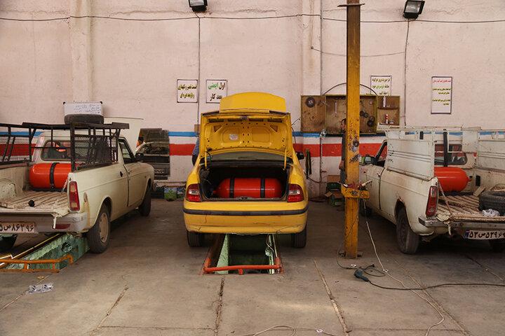 ۱۶۰۰ خودروی عمومی در استان سمنان دوگانه سوز شد