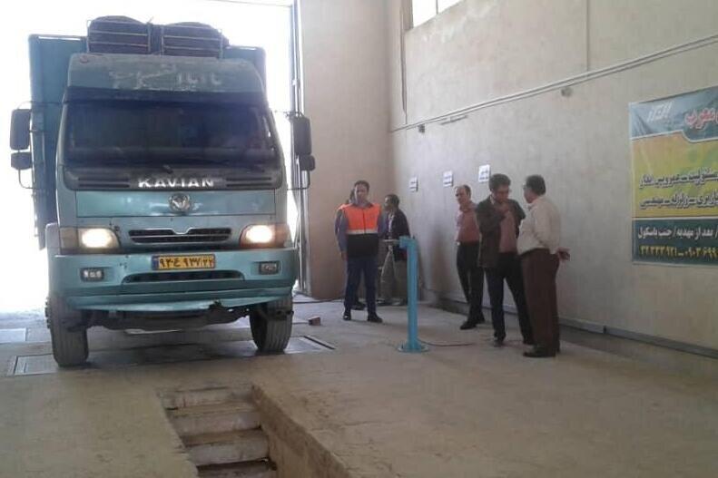 فعالیت ۵ مرکز معاینه فنی خودروهای سنگین در استان همدان
