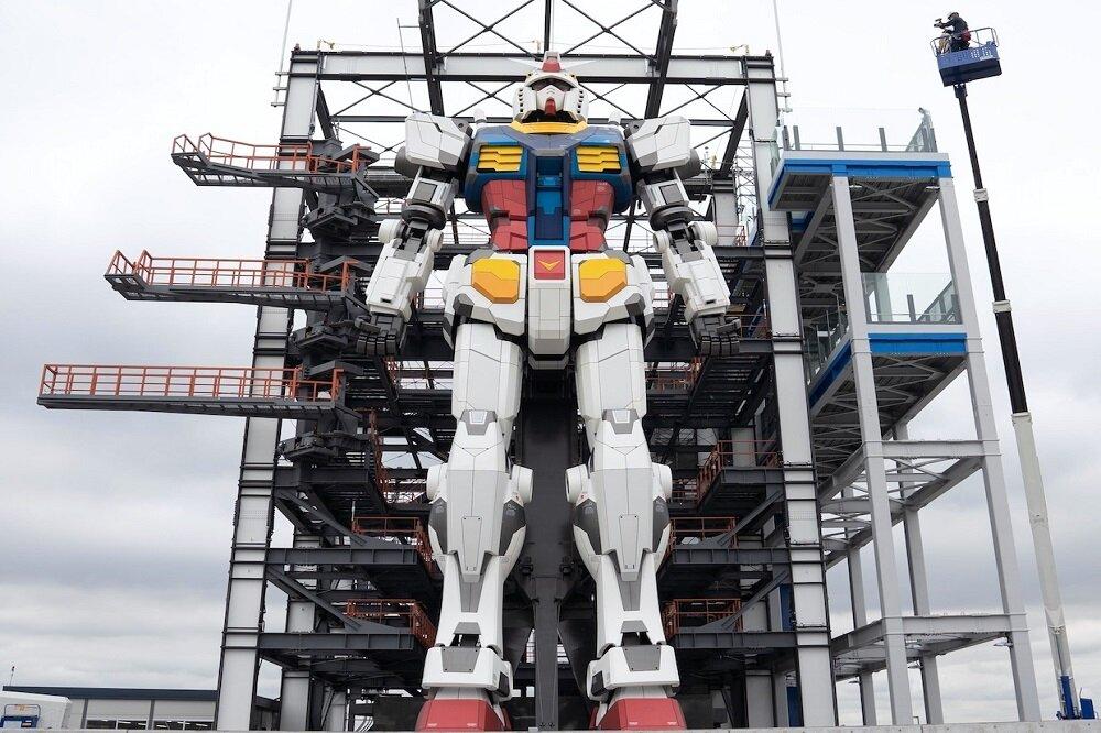 تولد ربات غول پیکر در ژاپن