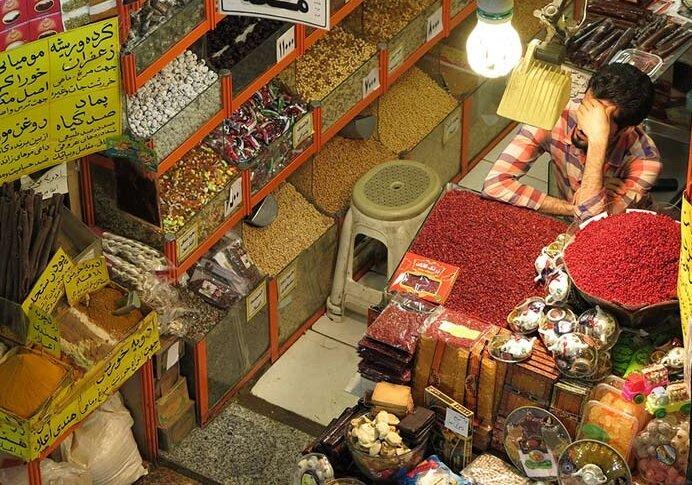 بزرگترین بازار خراسان، بدون خریدار، بدون فروشنده؛ رکود کامل در بازار رضا(ع) مشهد