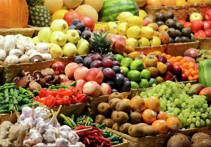قیمت میوه و تره بار در جمعه ۳۰ آبان ۹۹