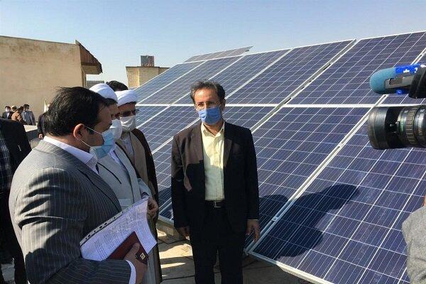 نیروگاه برق خورشیدی در البرز افتتاح شد
