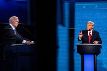 ترامپ در مناظره سعی کرد خودش نباشد/ بایدن مانند برندهها رفتار میکرد