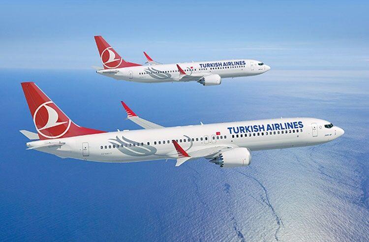 هواپیمای «ترکیش ایر» به تهران بازگشت