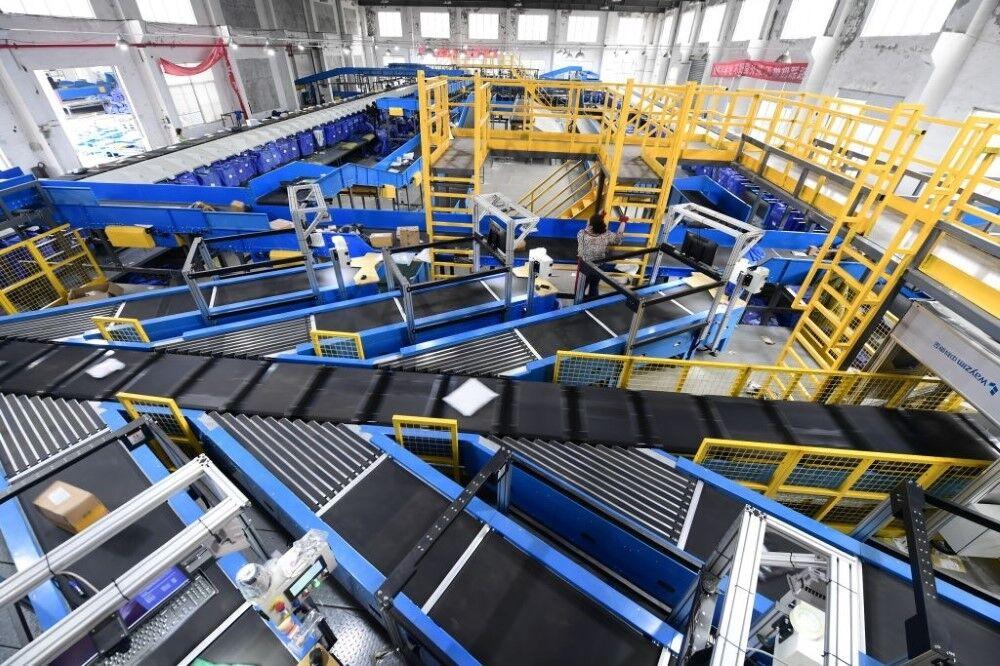 انبار بستهبندی اتوماتیک در چین