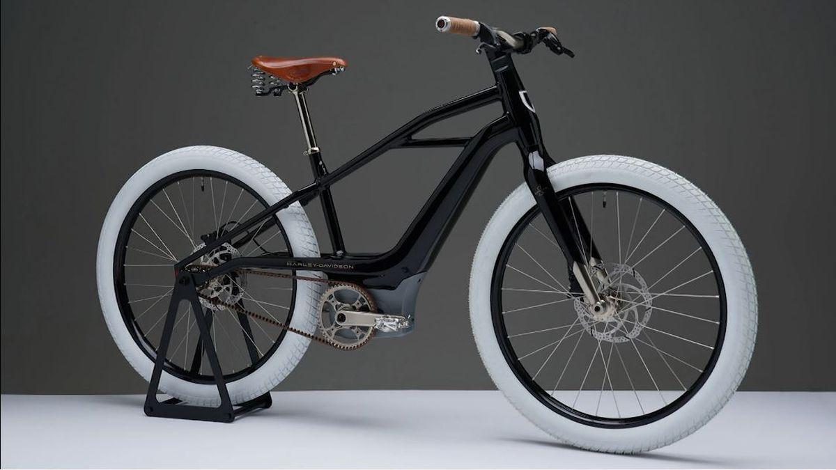 هارلی دیویدسون از اولین دوچرخه برقی خود رونمایی کرد