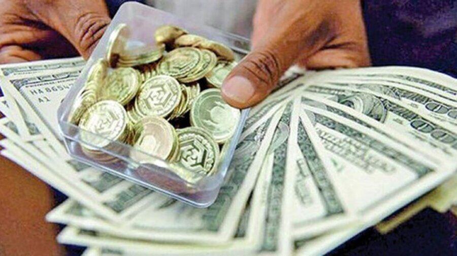 تداوم نوسان قیمت ارز و سکه تا پایان انتخابات| طلا در مسیر رشد قیمت از تابستان!