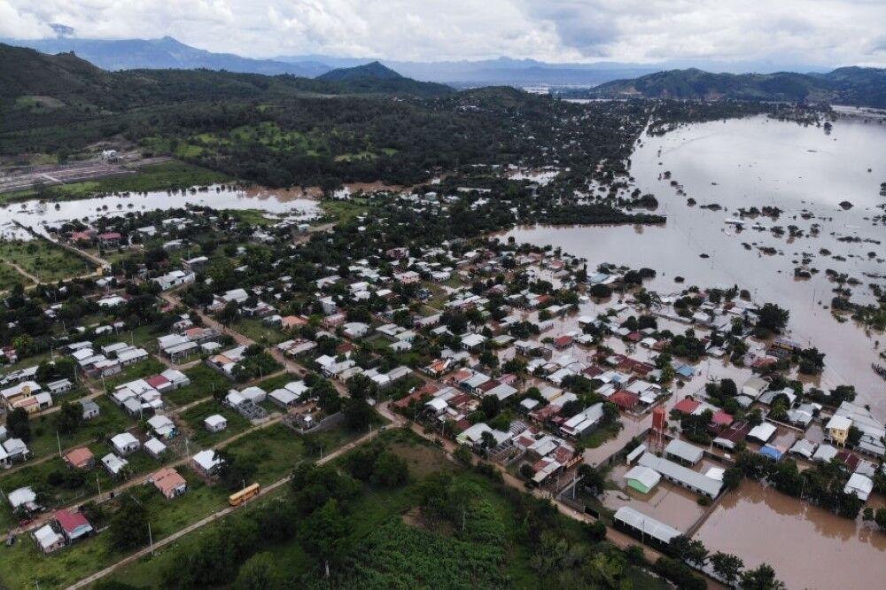 بدترین طوفان دهه اخیر در آمریکای مرکزی