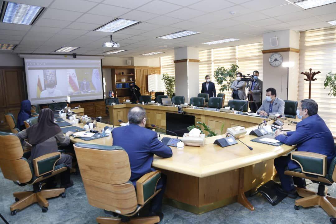 نشست مجازی رئیسکل بانک مرکزی و وزیر اقتصاد غنا