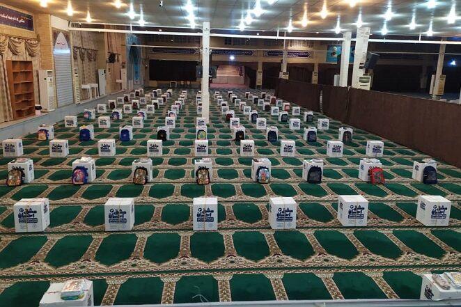 ۵۰۰ بسته نوشت افزار ویژه دانش آموزان مناطق محروم در بوشهر توزیع شد