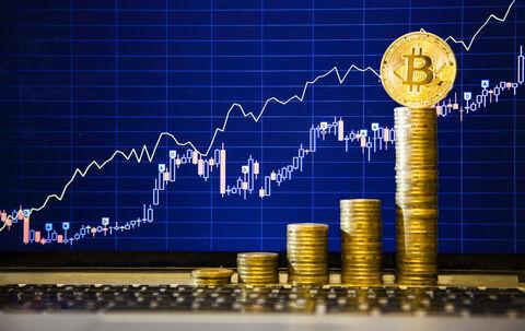 افزایش ۲ برابری قیمت بیت کوین طی ۳ ماه اخیر