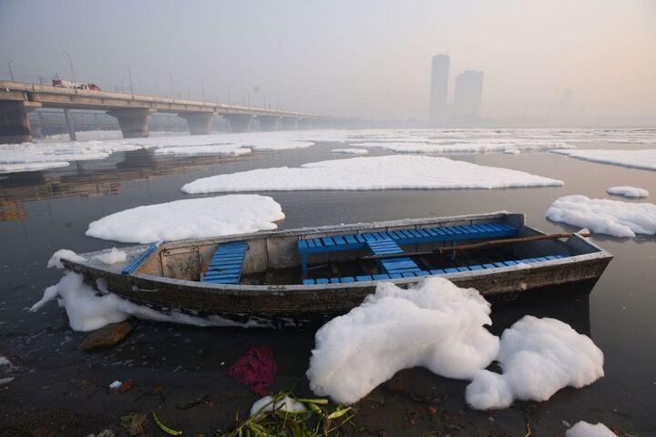 آلودگی رودخانه 4