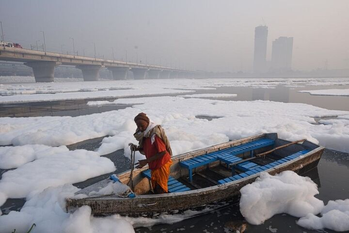 آلودگی رودخانه 5