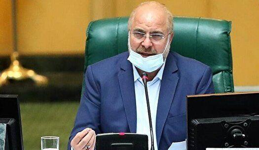 انتقاد رئیس مجلس از مخالفت دولت با طرح اصلاح ساختار بودجه