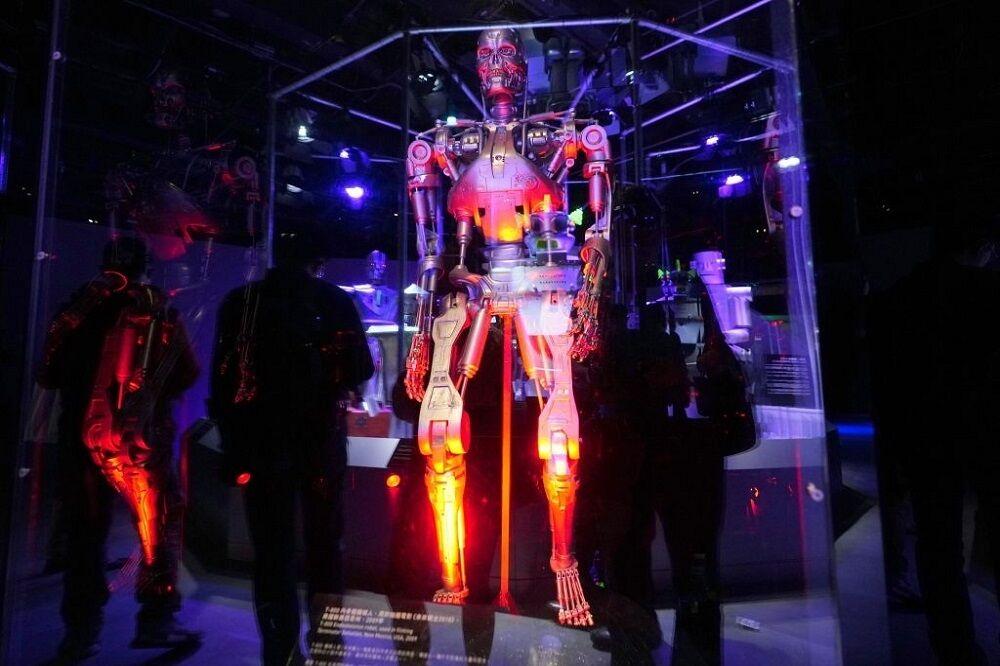 نمایشگاه رباتها در موزه علوم هنگ کنگ