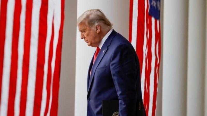 ترامپ انجام مسئولیتهای ریاست جمهوری را رها کرده است
