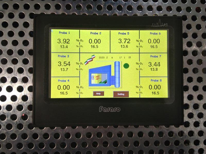 ساخت دستگاه آنالایزر اکسیژن نیروگاهی توسط متخصصان داخلی