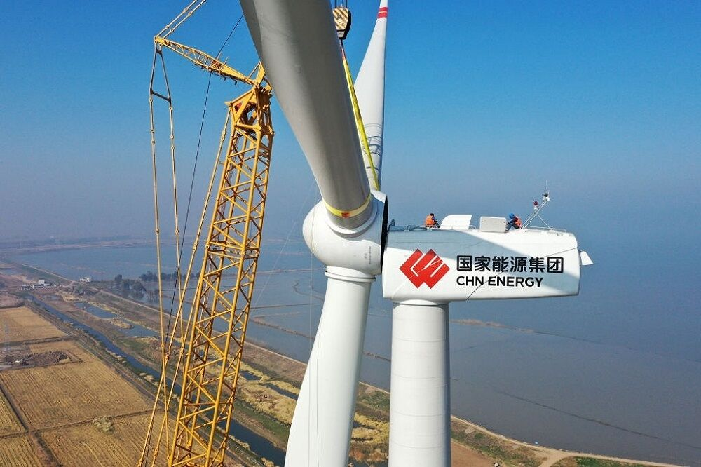 نصب توربینهای بادی در چین