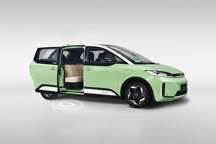 اولین خودرو الکتریکی- چینی  مجهز به پلتفرم همسفر آنلاین رونمایی شد