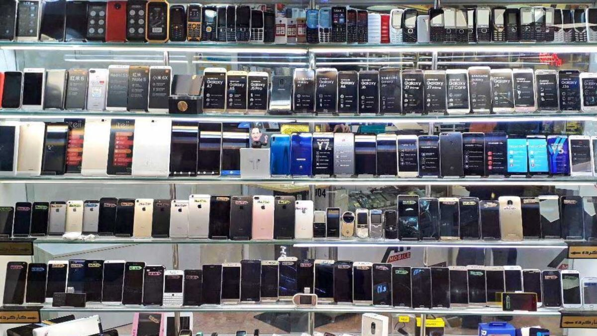 قیمت پرفروش ترین گوشیهای تلفن همراه هفته سوم اردیبهشت ۱۴۰۰