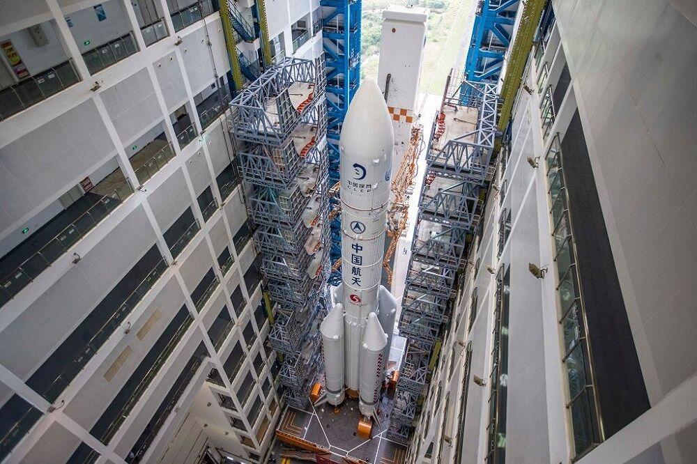موشک چینی آماده پرتاب در اواخر نوامبر