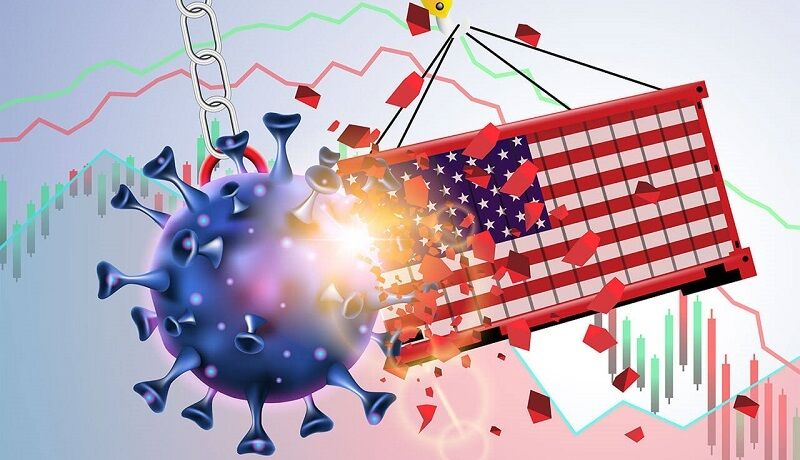 بازگشت اقتصاد آمریکا به وضع پیش از کرونا زمانبر است