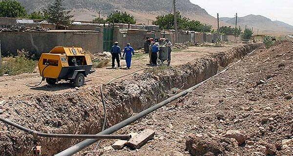 ضریب نفوذ گازرسانی به روستاهای استان ایلام ۹۷ درصد است