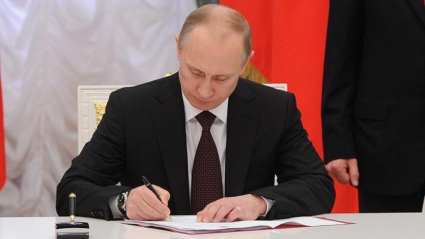 پوتین قانون افزایش مالیات بر درآمدهای بالا را امضا کرد