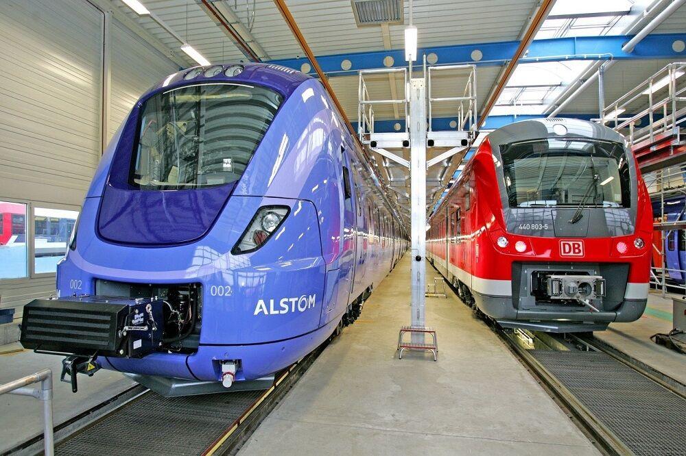 آزمایش قطار هیدروژنی در آلمان