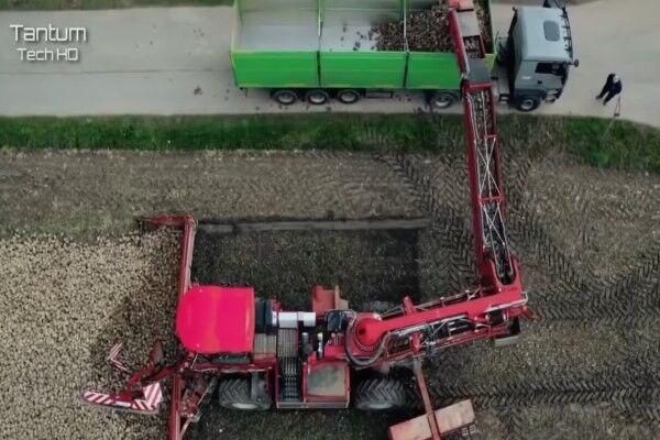 دستگاهی برای برداشت آسان محصولات کشاورزی