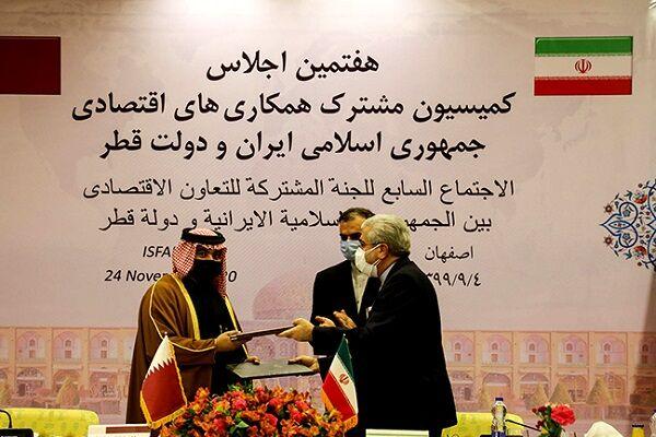 ایران و قطر به تجارت یک میلیارد دلاری می رسند؟
