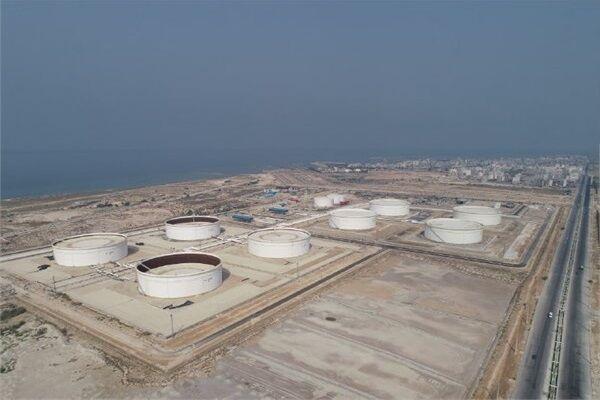 مخازن ذخیرهسازی میعانات گازی پالایشگاه فاز ۱۴ پارس جنوبی به بهرهبرداری رسید