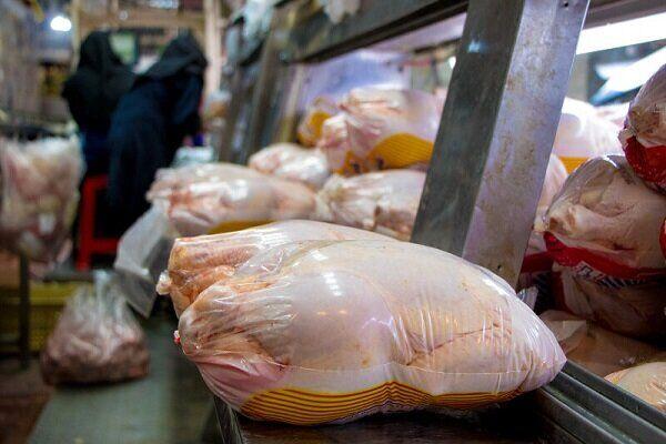 قیمت گوشت مرغ در بازار همدان کاهش می یابد