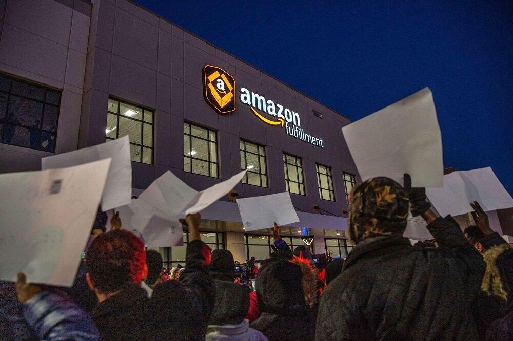 اعتصاب کارکنان آمازون در آلمان