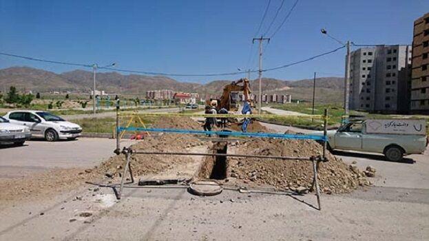 اجرای بیش از  ۱۷کیلومتر شبکه جمعآوری فاضلاب در خراسان شمالی