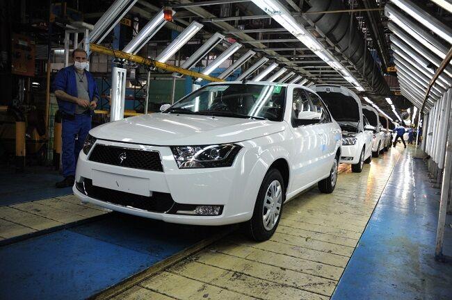 رکورد تولیدات ایران خودرو شکسته می شود