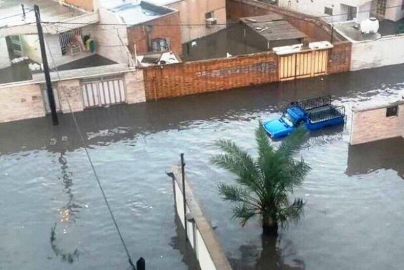 سیلاب در بم مردم را غافلگیر کرد