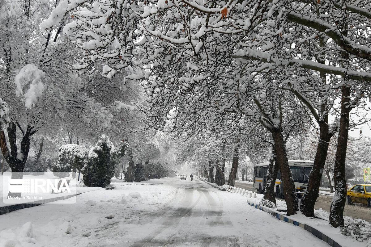 برف و باران در اکثر مناطق کشور