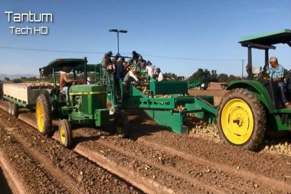 برداشت آسان محصولات کشاورزی به کمک تکنولوژیهای جدید